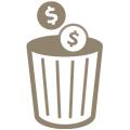 money_trash